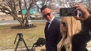 """Mike """"The Situation"""" Sorrentino arrives at Courthouse"""
