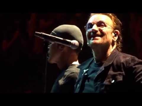 U2 - 2018 - Love Is Bigger (HD) - Boston 6-22-2018 (Section 21 Row 1 Seat 1)