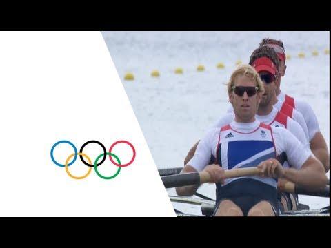 Team GB Win Men's Four Rowing Gold - London 2012 Olympics
