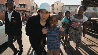"Siphe Fassie dancing around Langa in South Africa to ""KILLA"""