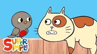 Little Robin Redbreast | Kids Songs | Super Simple Songs