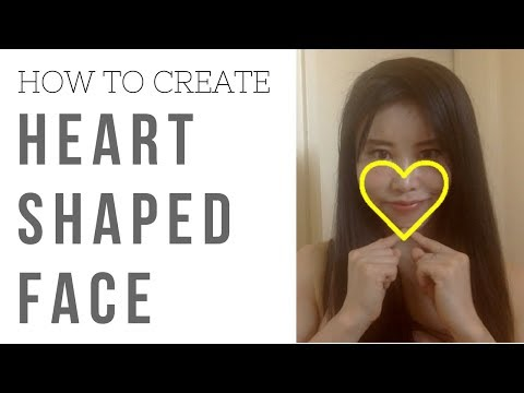 How to create heart shaped face | 3 face yoga exercises for cheekbones, jaw line and chin