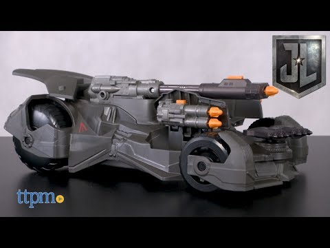 Justice League Mega Cannon Batmobile from Mattel