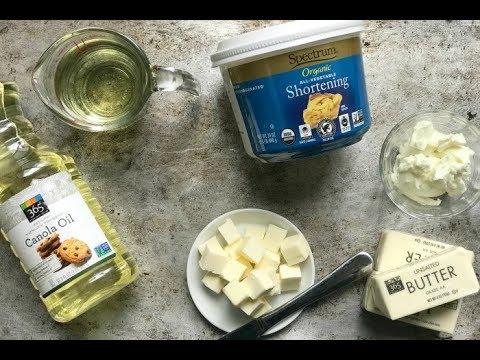 THE FUNCTION OF FAT IN BAKING | butter, shortening, lard, oil