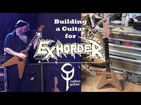 Building a Guitar for Exhorder: SP Custom Guitars