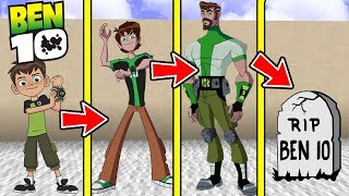 IF MINECRAFT BEN 10 HAD A REALISTIC LIFE SPAN (Be Born a Baby & Die Old)
