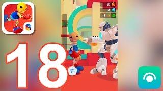 Buddyman Run - Gameplay Walkthrough Part 18 - All Deaths (iOS)