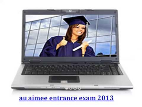 AIPMT AFMC AU AIMEE Entrance Exam 2013 Important Dates