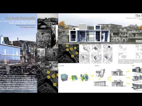 Architectural CV + Portfolio of Shawn Fan