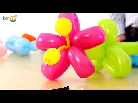 How to Make a Balloon Flower with Roger Daws - BMTV 58