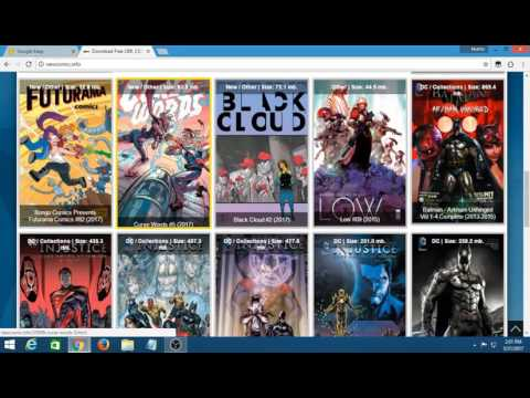 How to download comics for free in some ways