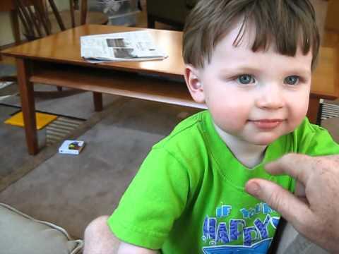 cute baby going bbbbhhh bbbhhh