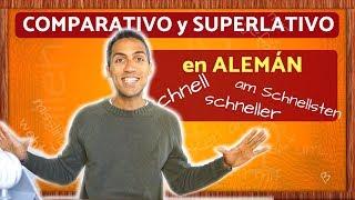 Download Aprende COMPARATIVO y SUPERLATIVO en ALEMÁN Video