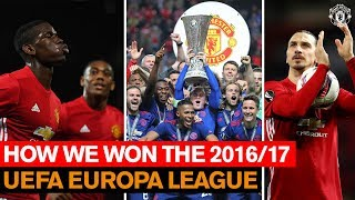How We Won the 16/17 UEFA Europa League | Manchester United | Season Review