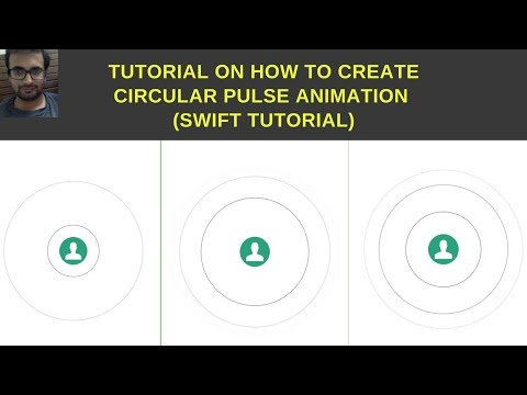 Swift Tutorial :- Create circular pulse animation in swift