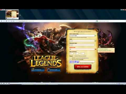 LOL Free League of Legends RP, IP Hack New version!
