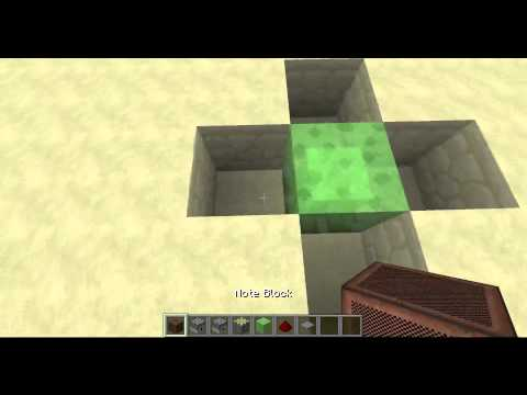 Minecraft: How to build a Slime block Jump pad!