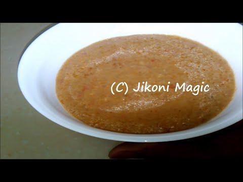 African Peanut Sauce Recipe- Basic Peanut sauce - Jikoni Magic