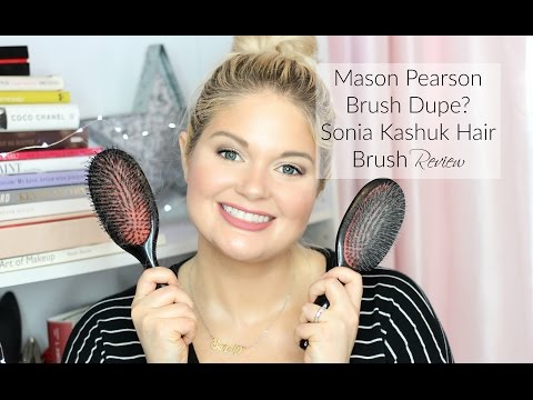 Mason Pearson Brush Dupe? Sonia Kashuk Hair Brush Review