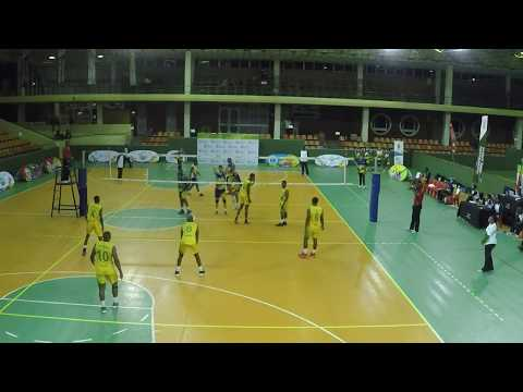 National Volleyball League: Western Cranes VS Giants 03 Mar 2018