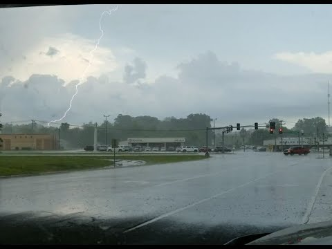Thunderstorm With Hail - West Plains, MO.