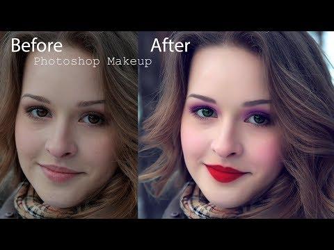 Photoshop face Makeup    2017    Tutorial