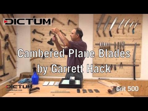 Sharpening with Garrett Hack - Cambered Plane Blades | EN Original Version Tutorial Video
