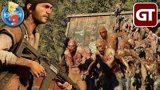 Die perfekte Zombie-Welle auf PS4   DAYS GONE in der E3-Auswertung - Trailer-Check zum Gameplay