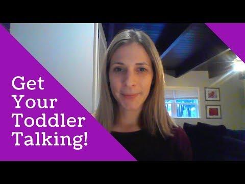 Toddler Talk - Get Your Toddler Talking!