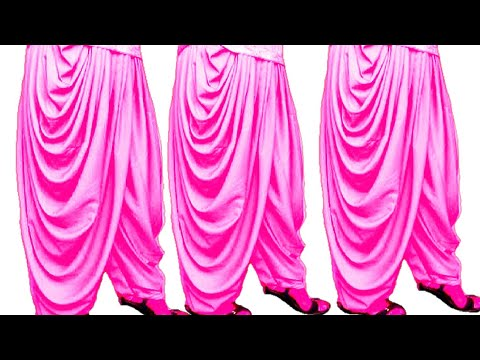 new dhoti salwar with open mohri  cutting and stitching....