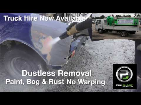 Pro Blast Dustless Sandblasting Truck Hire Melbourne