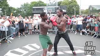 16yr old boy knocks out 25yr old man #BXFIGHTCLUB