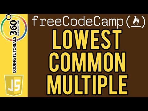 Smallest Common Multiple Intermediate Algorithm Scripting Free Code Camp.com