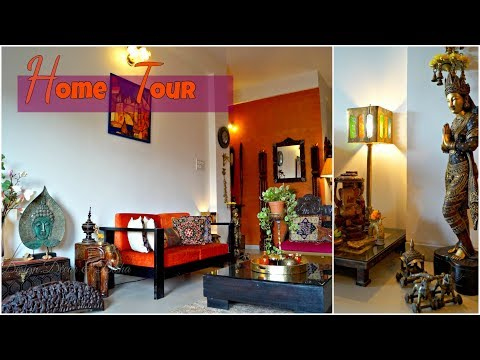 Home Tour - Kapila & Sonal Banerjee (Part-I )   Indian Home Tour