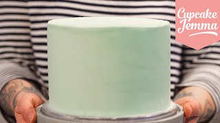 Download Masterclass: How to Decorate a Layer Cake with Smooth Buttercream Icing | Cupcake Jemma Video