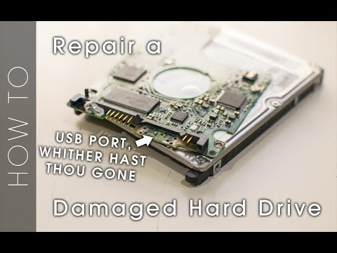 Broken, but not lost! - Hard Drive Broken USB Port Repair