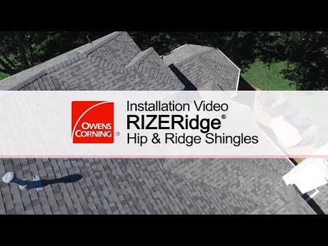 Roofing Installation Guide | RIZERidge® Hip & Ridge Shingles