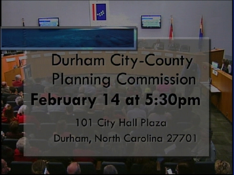 Durham Planning  Commission Feb 14, 2017