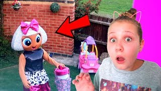 CAUGHT LOL SURPRISE DOLL IN MY HOUSE!! (Diva left us Secret Messages)