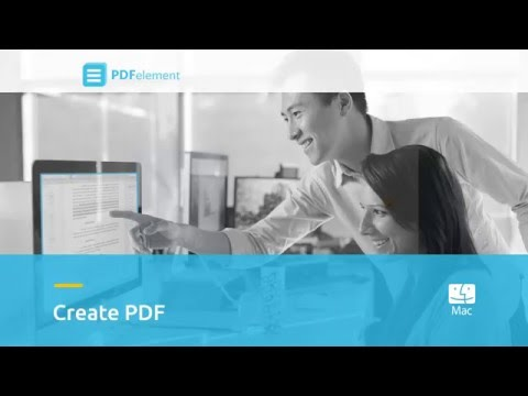 How to Create PDF on Mac