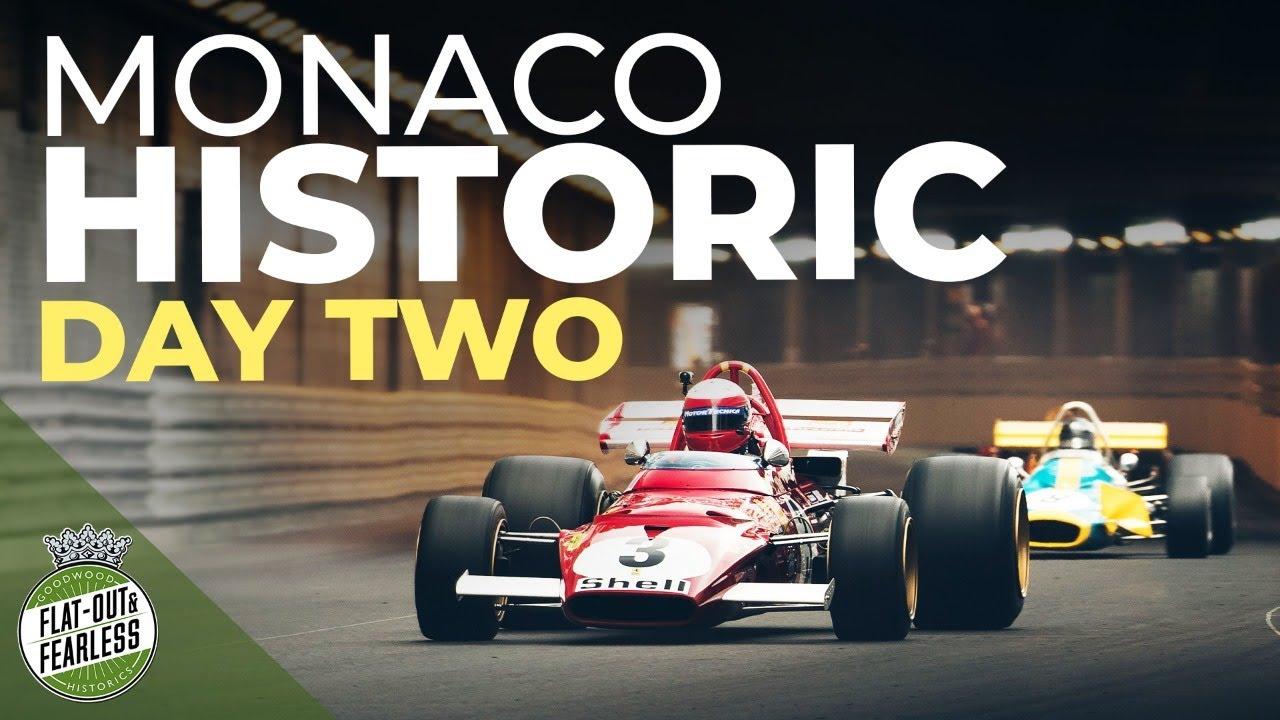 Monaco Historic Grand Prix 2021 full race day