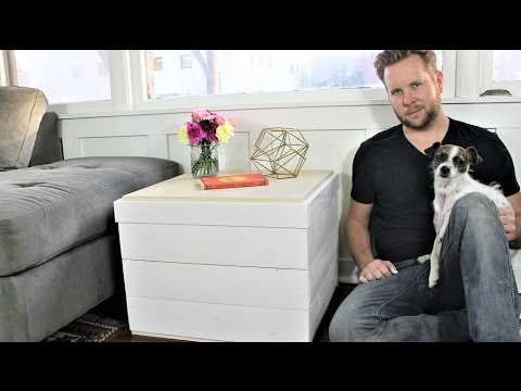 IKEA HACK - The Shiplap Side Table