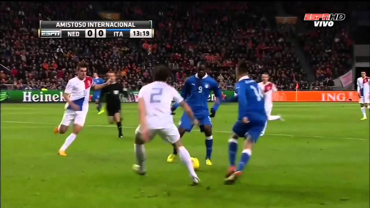 [國際足球友誼賽]20130207 荷蘭 對 意大利 上半場 Netherlands VS Italy 1st Half