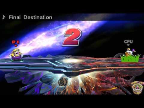 Wario Beats Up Duck Hunt Dog