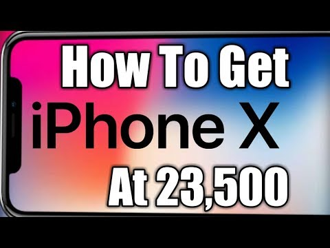 How To Get iPhonex At Rs 23,500😄😀