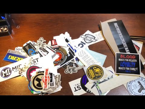 How to make STICKER MAGNETS