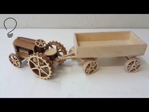 Making a Tractor Trailer out of Plywood
