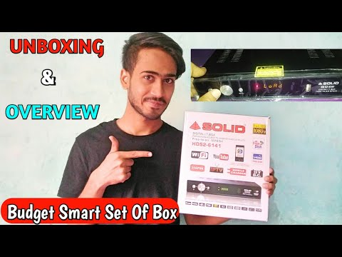#Hindi, Solid 6141 Set Of Box Unboxing And Full Overview. ☺