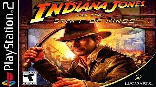 Indiana Jones and the Staff of Kings - Story 100% - Full Game Walkthrough / Longplay (PS2) HD, 60fps