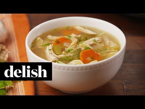 Crock-Pot Chicken Noodle Soup | Recipe | Delish